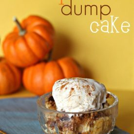 Tasty Tuesday – Pumpkin Dump Cake