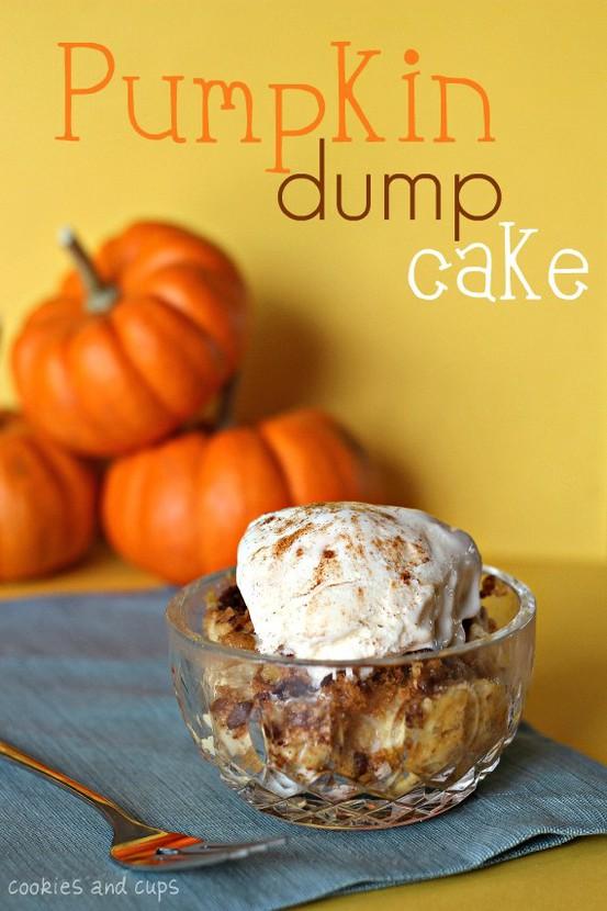 Tasty Tuesday – Pumpkin Dump Cake