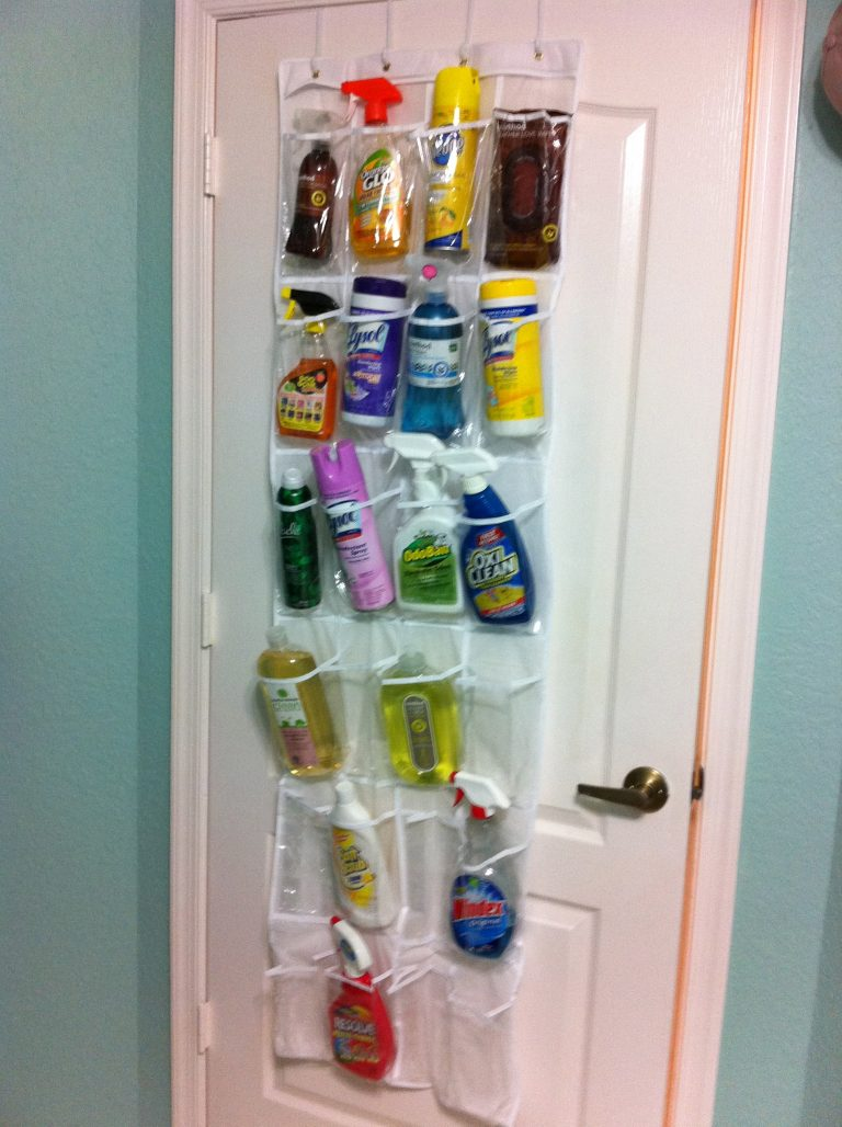 Pins I've Tried: How to Organize Cleaning Supplies