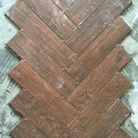 This is a beautiful thing woodtilefloors herringbone doubletreehouse