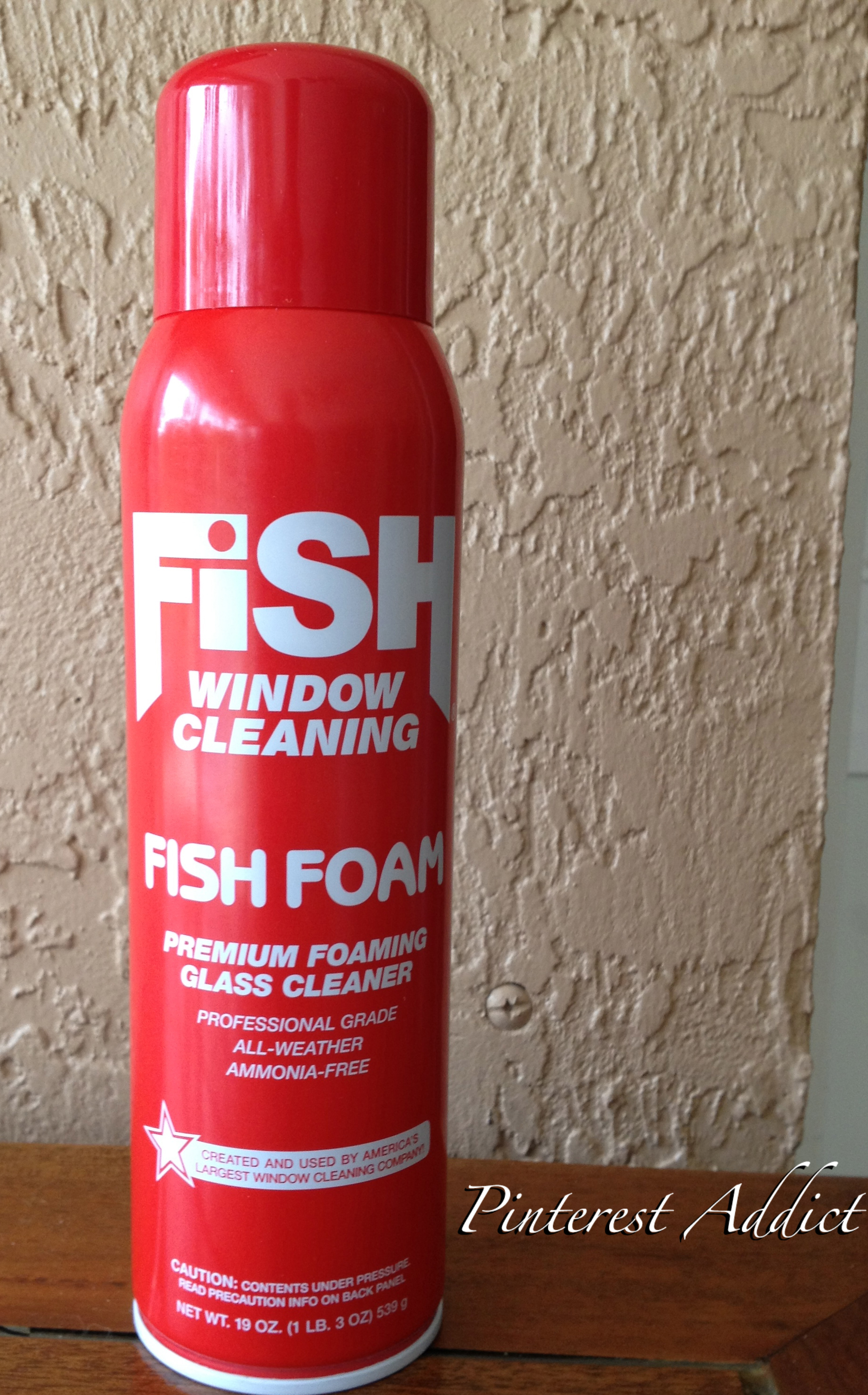 Fish Foam Window Cleaner