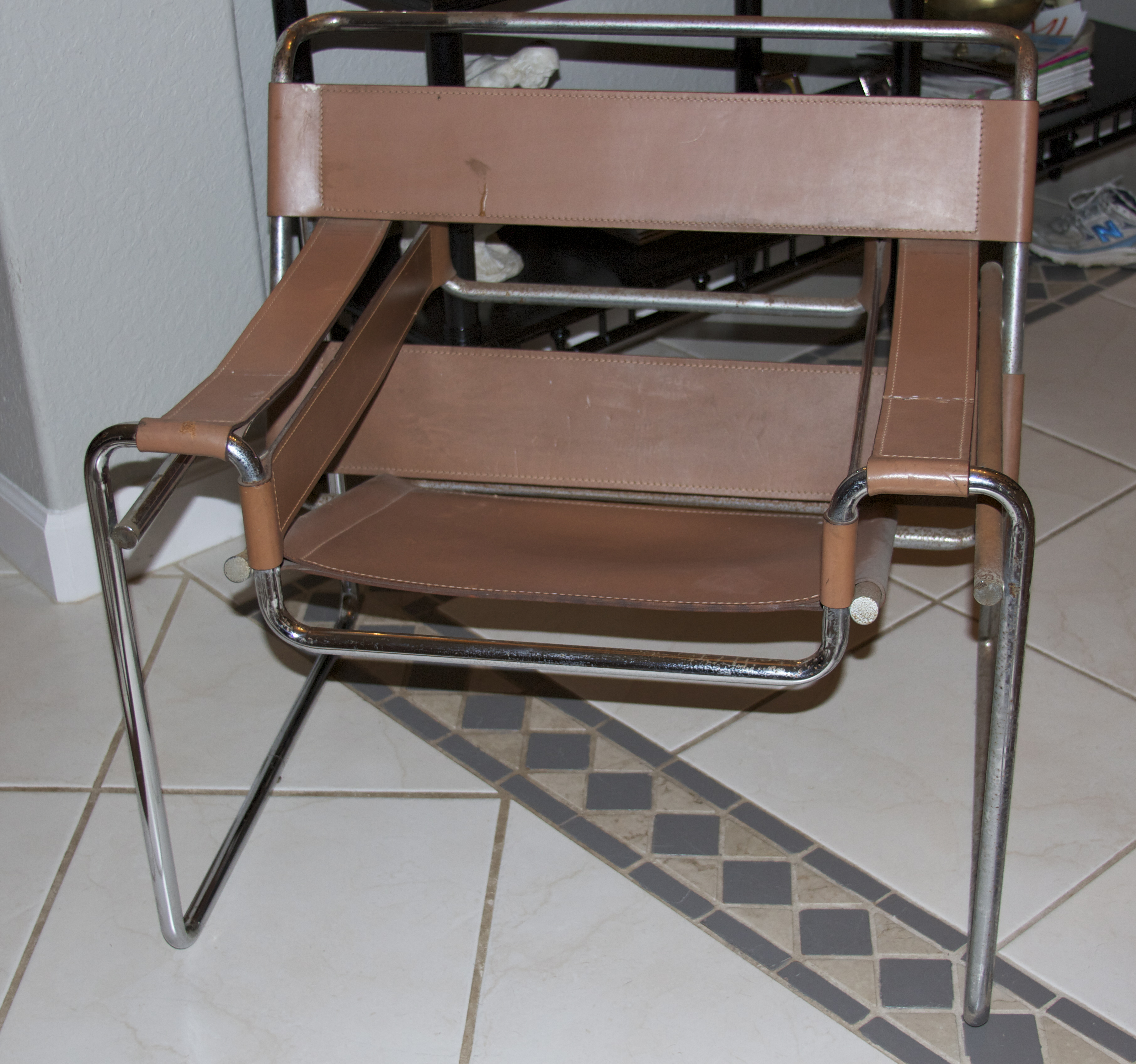 My Wassily Chair and other thrift store finds - Pinterest Addict