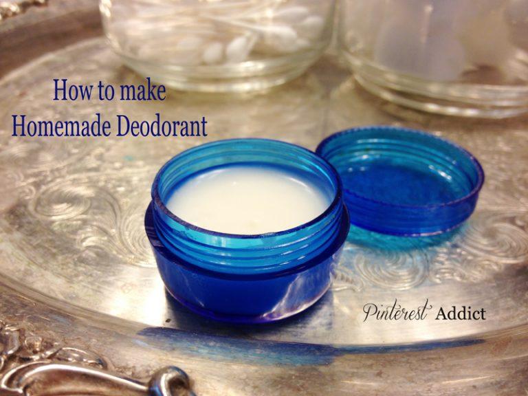 Pins I've Tried: Homemade Deodorant