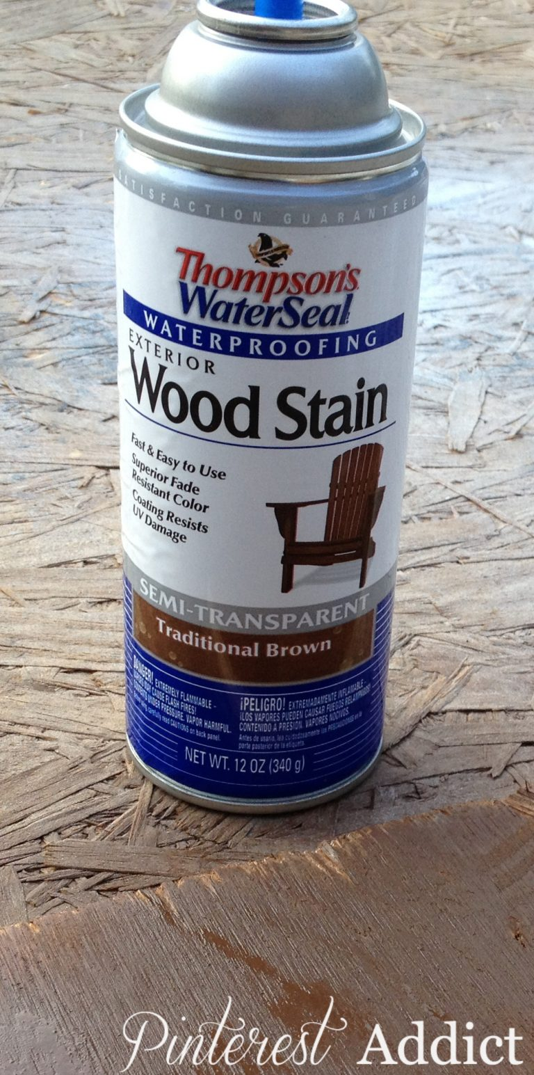 Thompson's WaterSeal Spray Wood Stain