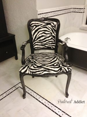 Bathroom Chair Update