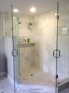 Marble Shower After
