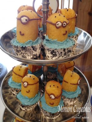 Pins I Tried: Minion Cupcakes and Zombie Cake