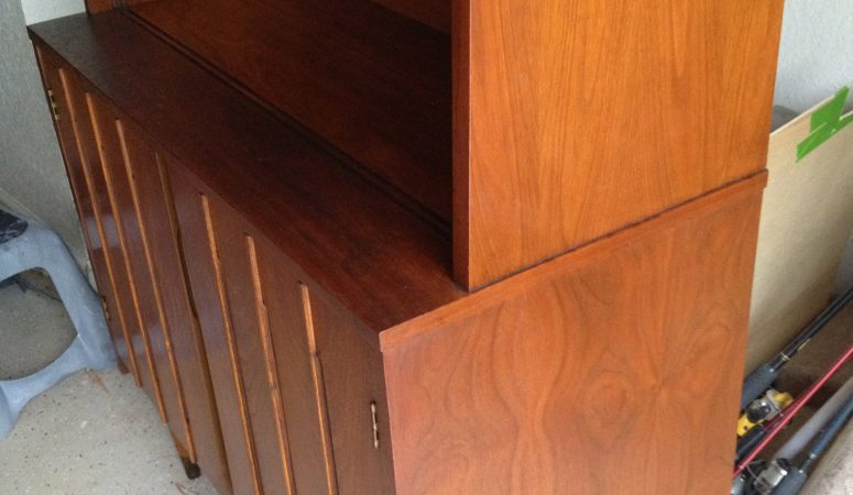 Pins I've Tried: Reviving Furniture with Oil and Vinegar