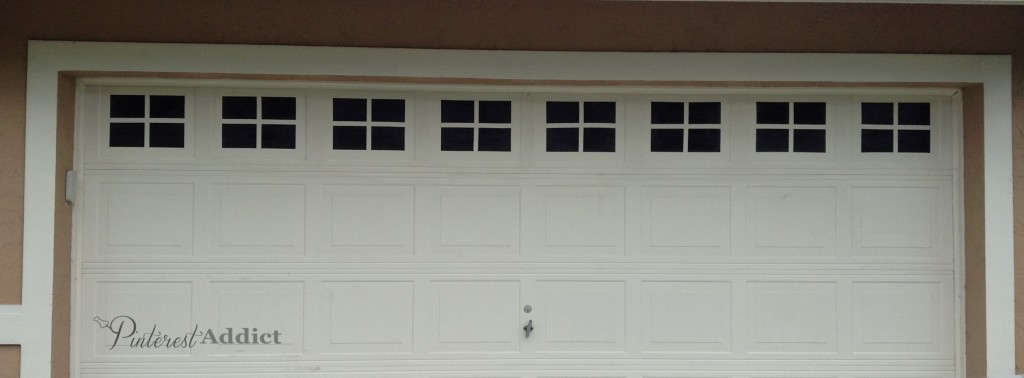 Faux Carriage Garage Door - Windows complete