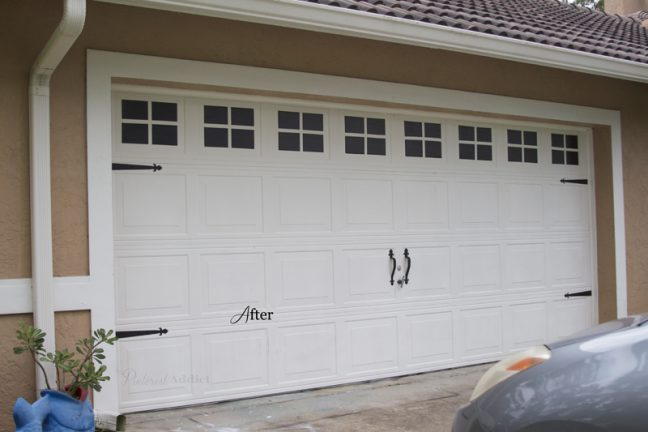 Carriage Garage Door - After