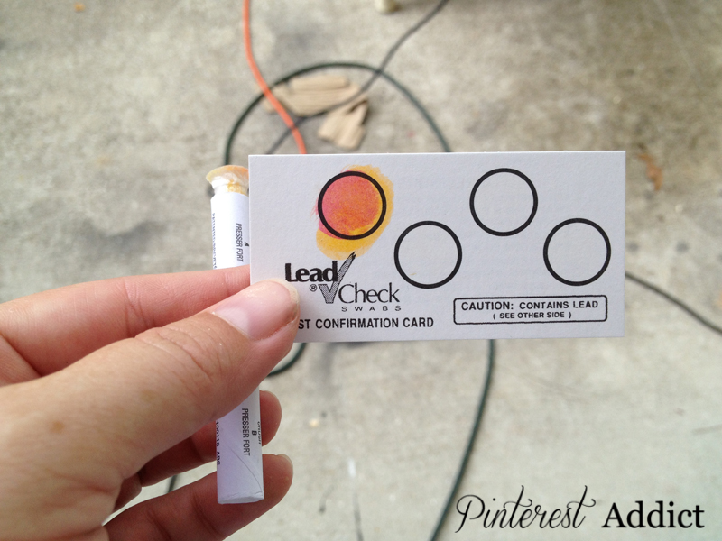 How To Test For Lead Paint On Furniture