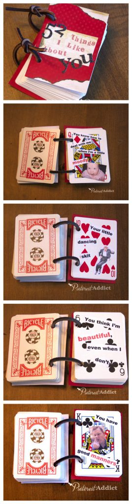 52 Things I like about you - Valentines Day, Birthday DIY gift idea