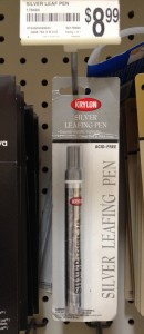 Krylon Silver Leafing Pen