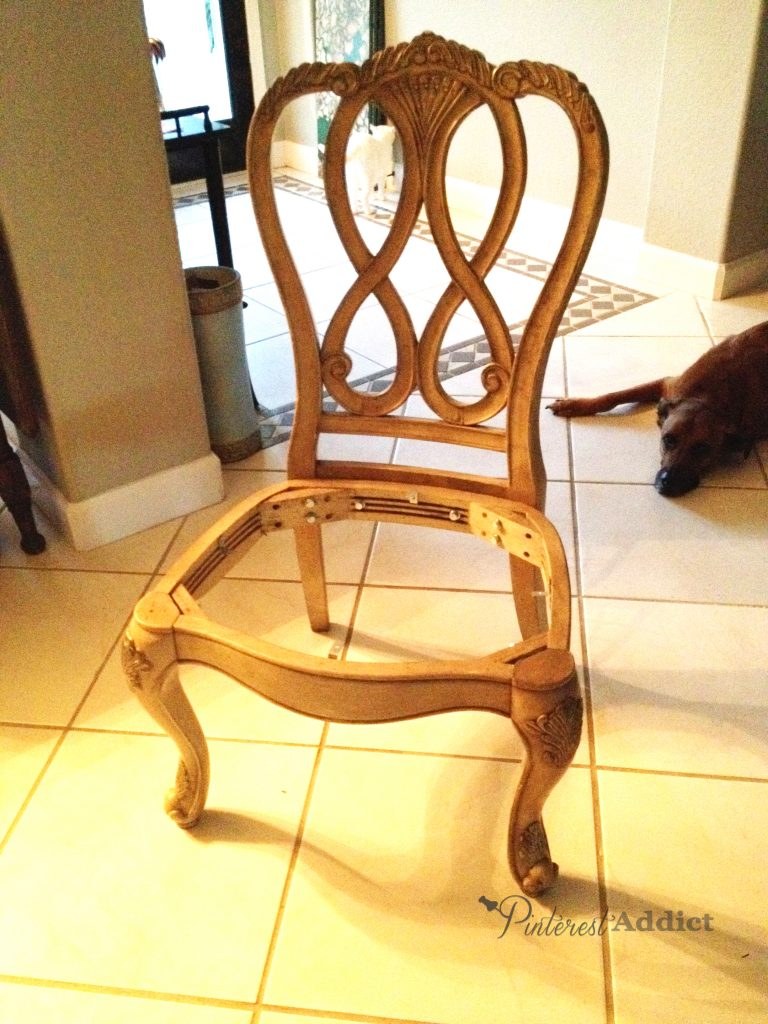Furniture before and afters - dining room chair