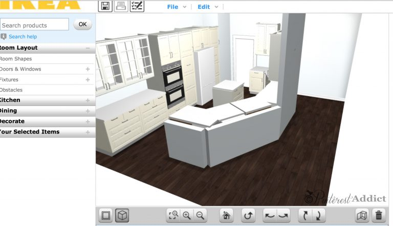The Floor Tile Decision and Our Ikea Kitchen Plan So Far