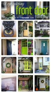 18 Eye Catching Front Door Designs