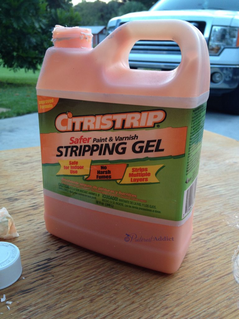 Citrustrip Paint Remover - love this stuff