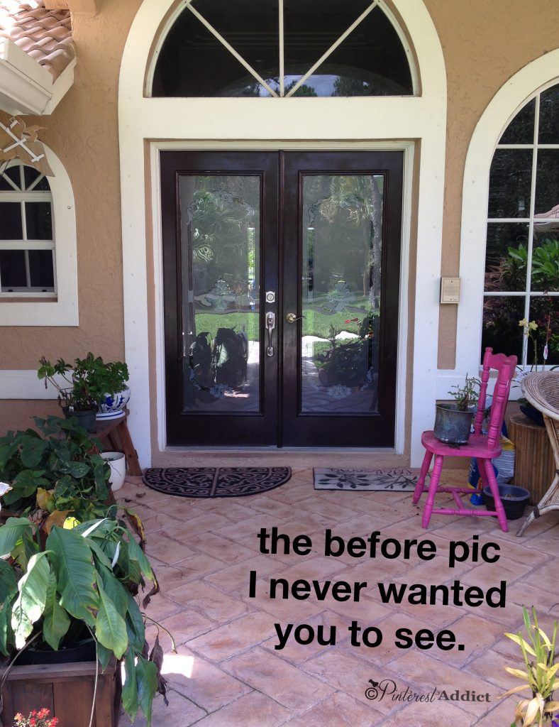 embarassing porch before