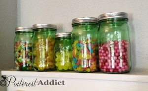 bell mason jar candy jars