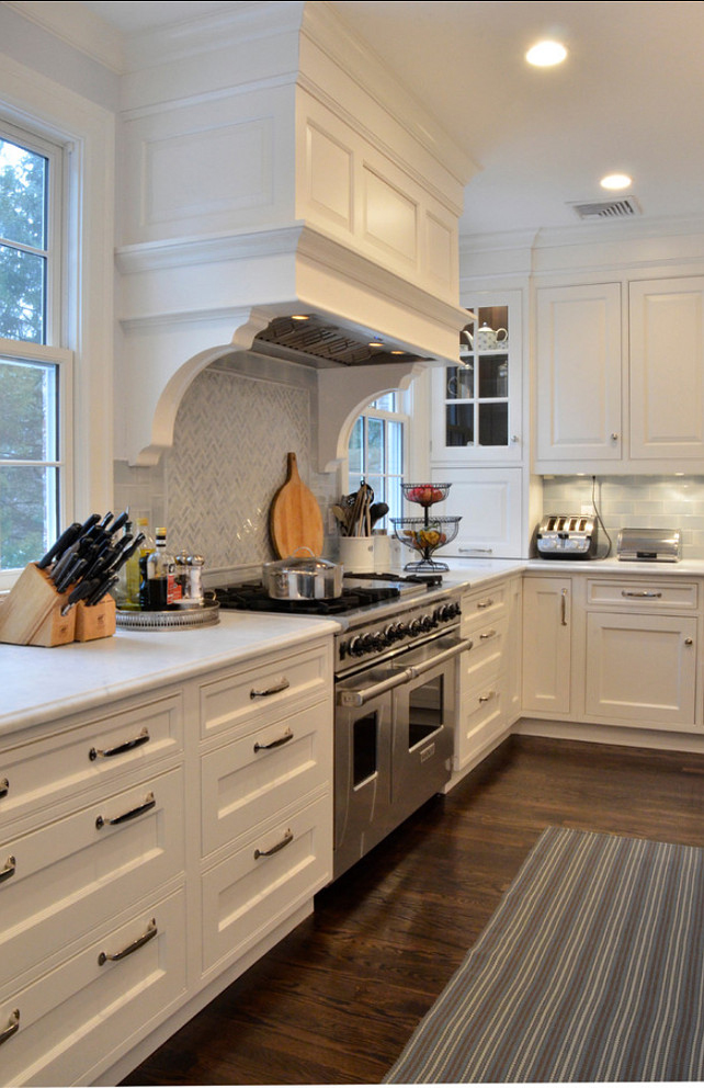 Kitchen designed by Studio Dearborn - double oven stove