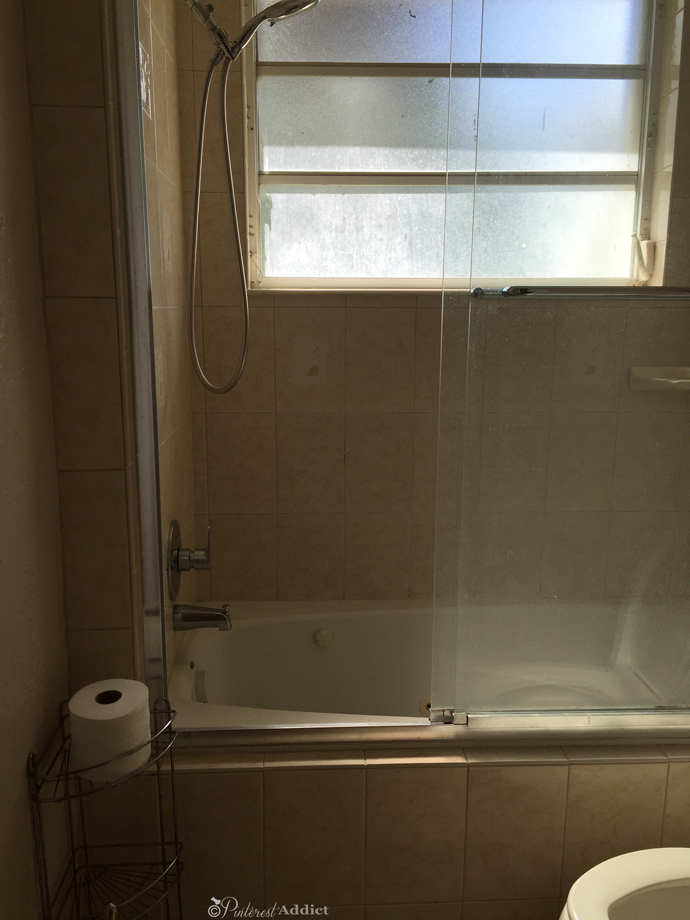 kids' shower and window