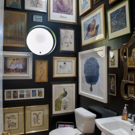 Art Gallery Bathroom – From Boring to Beautiful