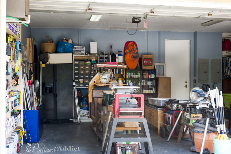 Full shot of Garage After - Good Housekeeping Spring Cleaning Challenge - Garage Makeover