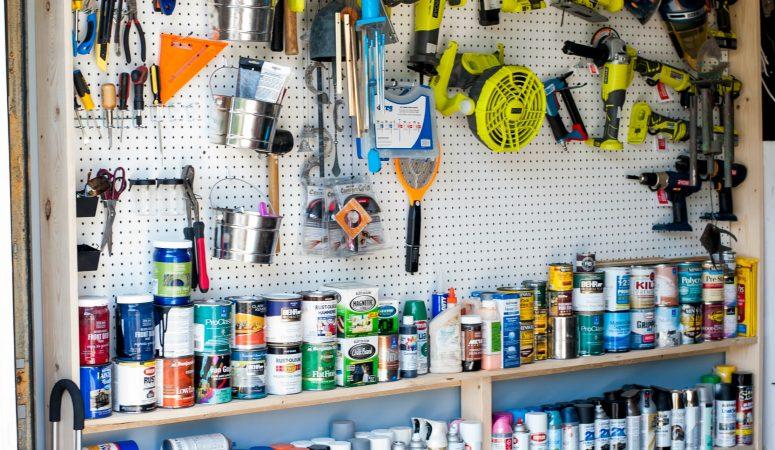 Garage Makeover and Organization