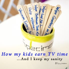 How My Kids Earn TV Time and Spending Money