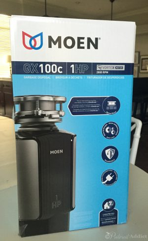 Moen Garbage Disposal – 1 HP GX100c