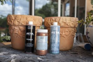 Copper Patina Flower Pots – Modern Masters