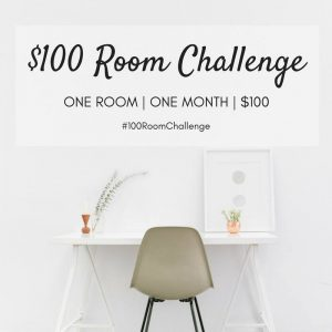 $100 Room Challenge – Laundry Room Makeover – Week 2