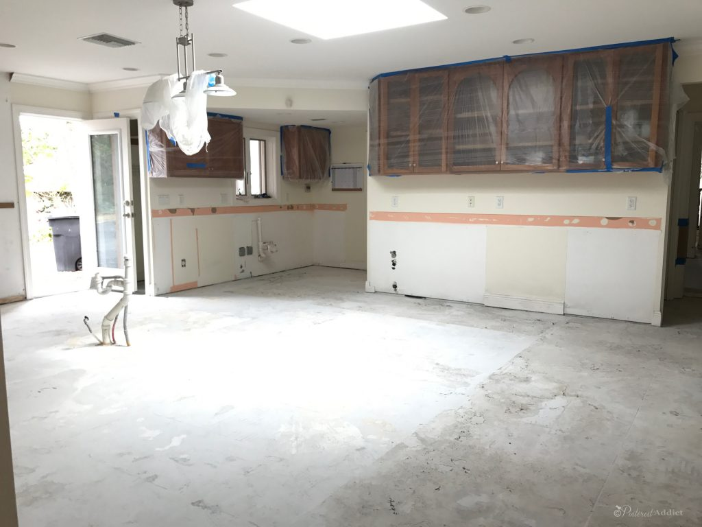 ORC- Kitchen progress - no cabinets, no floors