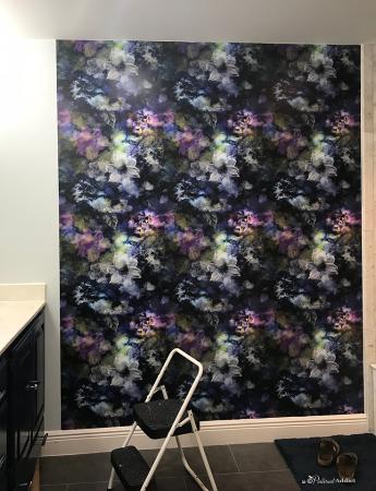 SmithHonig wallpaper bryony noir